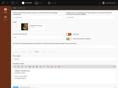 Promobox plugin